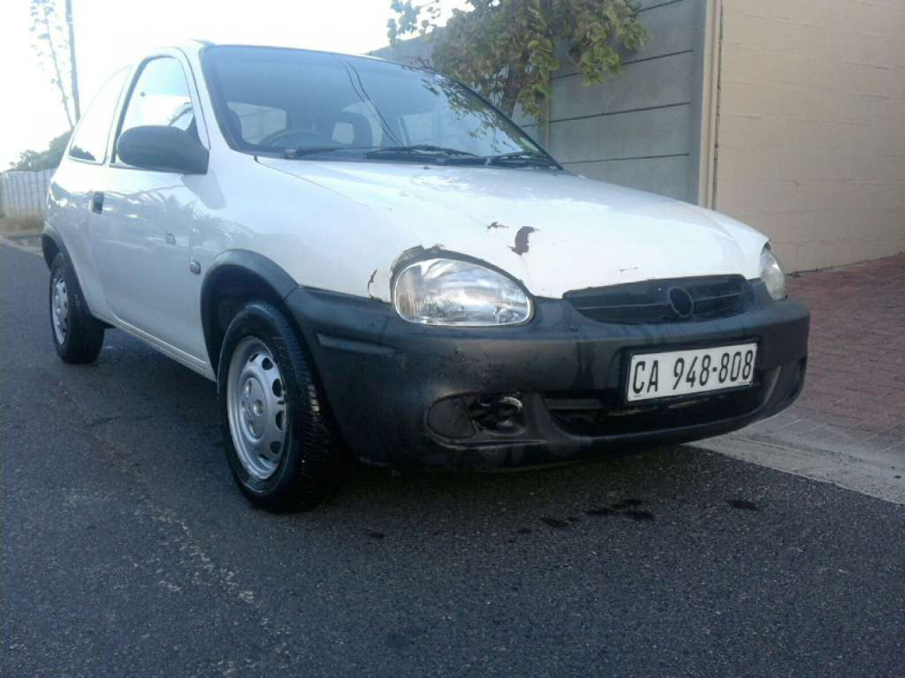 2003 opel corsa white for sale. Black Bedroom Furniture Sets. Home Design Ideas